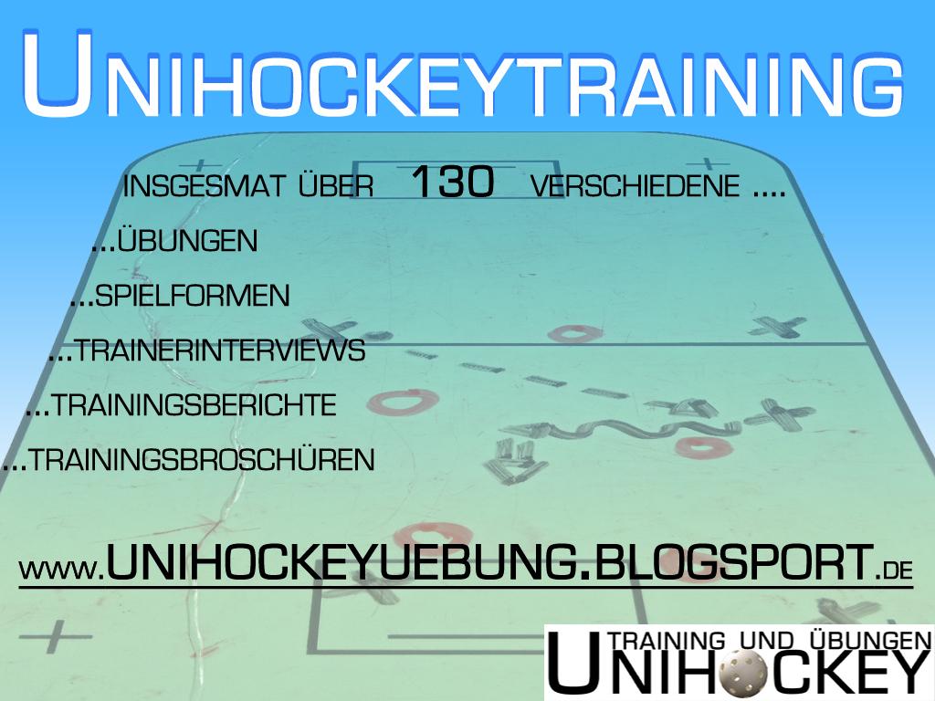 Unihockeyuebung Flyer